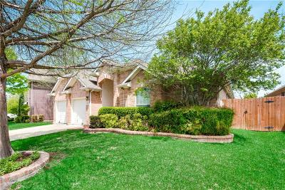 Mesquite Single Family Home Active Option Contract: 4522 Julian Drive