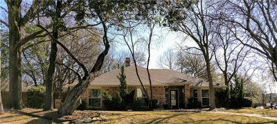 Grand Prairie Single Family Home Active Option Contract: 534 W Verde Woods Street
