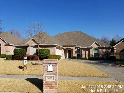 North Richland Hills Single Family Home Active Option Contract: 5552 Greenview Court