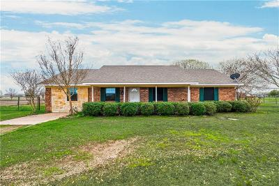 Kaufman Single Family Home Active Option Contract: 5832 E State Highway 243