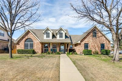 Saginaw Single Family Home Active Option Contract: 900 Friar Drive