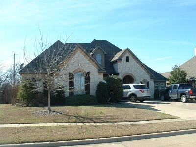 Waxahachie Single Family Home Active Option Contract: 3023 Coventry Lane