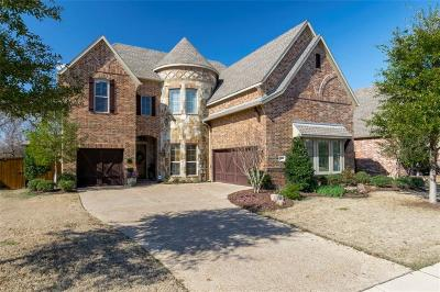 Allen Single Family Home For Sale: 1608 Summer Oaks Drive