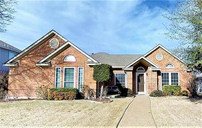 Allen Single Family Home Active Contingent: 1503 Country Lane