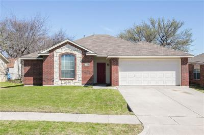 Grand Prairie Single Family Home Active Option Contract: 2514 Donna Drive