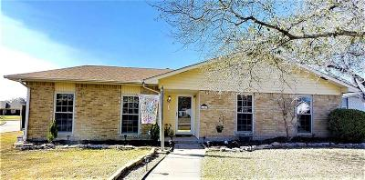 Plano Single Family Home Active Option Contract: 6401 Abilene Court