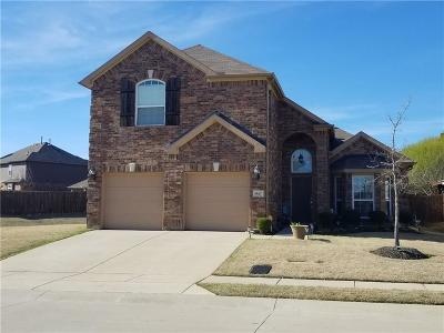 Lewisville Single Family Home Active Option Contract: 947 Woodrow Drive