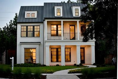 Dallas, Highland Park, University Park Single Family Home For Sale: 3901 Stanford