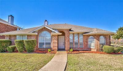 Rowlett Single Family Home Active Option Contract: 8302 Bristol Court