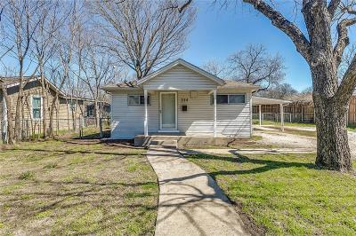 Waxahachie Single Family Home Active Option Contract: 214 Pecan Street