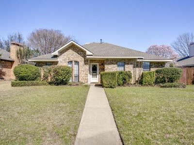 Plano Single Family Home Active Option Contract: 3229 Brunchberry Lane