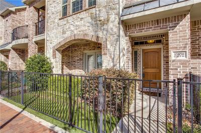 Addison Townhouse For Sale: 15850 Quorum Drive
