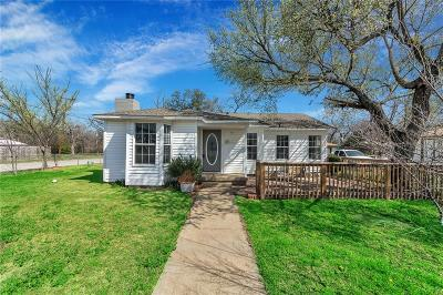 White Settlement Single Family Home Active Option Contract: 130 N Roe Street