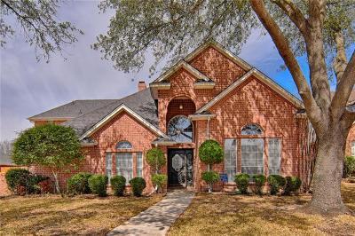 Arlington Single Family Home Active Option Contract: 3315 Summergrove Drive