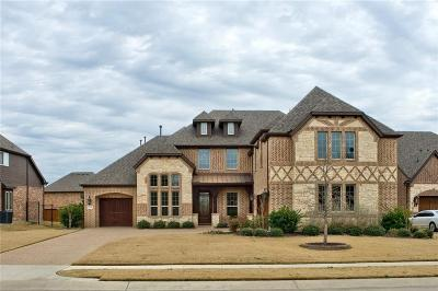 Single Family Home For Sale: 2212 Trophy Club Drive