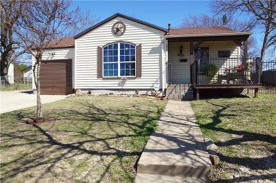 Single Family Home Active Option Contract: 4809 Fairfax Street