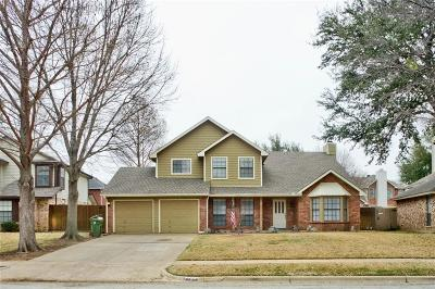 Grapevine Single Family Home Active Option Contract: 2708 Harmon Drive