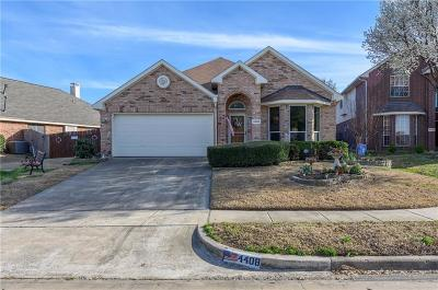 Denton County Single Family Home For Sale: 4408 Spanish Oak Circle