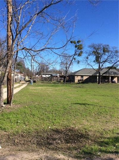 Dallas County Residential Lots & Land Active Option Contract: 3713 Savage Street