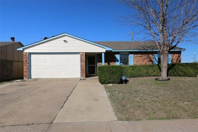 Allen Single Family Home Active Option Contract: 100 W Way Drive
