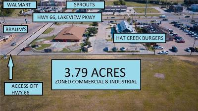 Rowlett Commercial Lots & Land For Sale: 3318 Lakeview Parkway