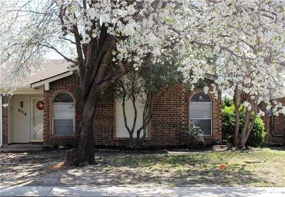 North Richland Hills Single Family Home Active Option Contract: 6316 Sudbury Way