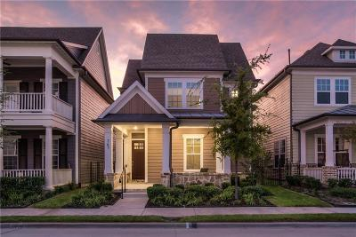 Coppell Single Family Home Active Contingent: 747 Cameron Court