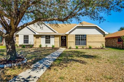 Lewisville Single Family Home Active Option Contract: 1513 Springaire Lane