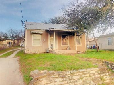 Weatherford Single Family Home For Sale: 710 Liberty Street