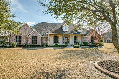 Haslet TX Single Family Home Active Option Contract: $465,000