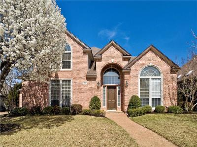 Colleyville Single Family Home Active Option Contract: 1010 Lakeridge Court