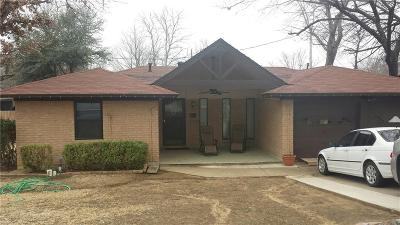Grand Prairie Single Family Home Active Option Contract: 807 Sanders Street