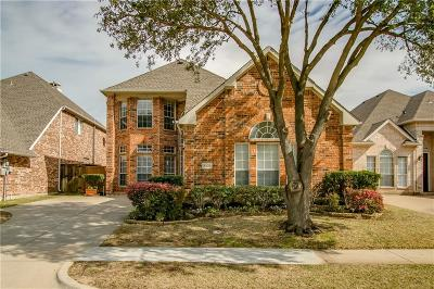 Irving Single Family Home Active Option Contract: 8520 Wellington Point Drive
