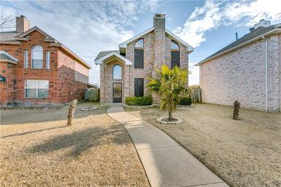 Mesquite Single Family Home Active Option Contract: 1320 Copper Meadow Drive