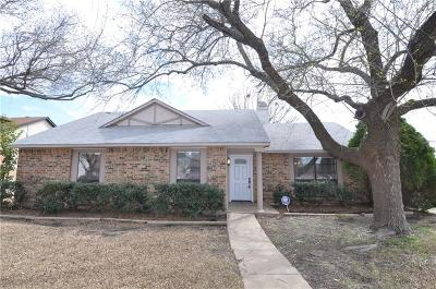 Allen Single Family Home Active Option Contract: 1300 Crestview Drive