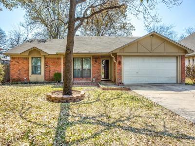 Benbrook Single Family Home Active Option Contract: 1228 Timbercreek Road