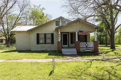 Single Family Home For Sale: 601 4th Street