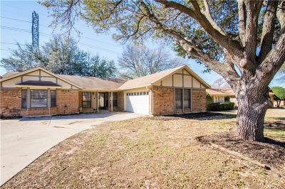 North Richland Hills Single Family Home Active Option Contract: 6424 Circleview Drive