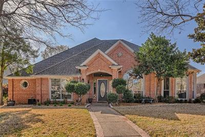 Mansfield Single Family Home Active Option Contract: 10 Treewood Court