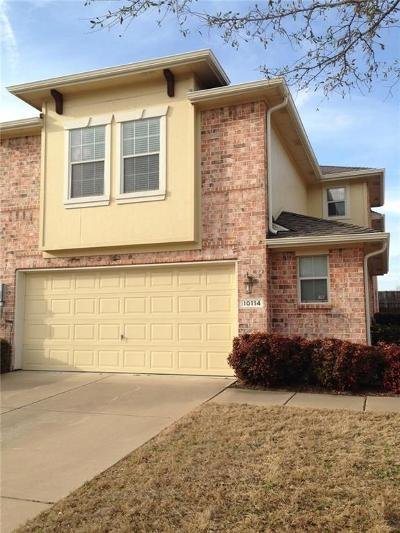 Frisco Townhouse Active Option Contract: 10114 Summit Run Drive