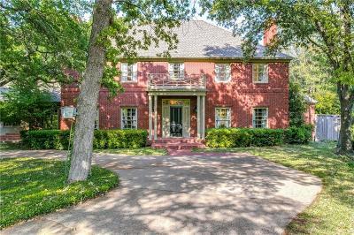 Arlington Single Family Home Active Option Contract: 2717 Shadow Court