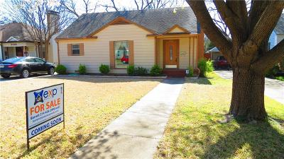 Dallas Single Family Home For Sale: 8722 Forest Hills Boulevard