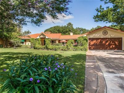 Fort Worth Single Family Home For Sale: 8145 Eagle Mountain Circle