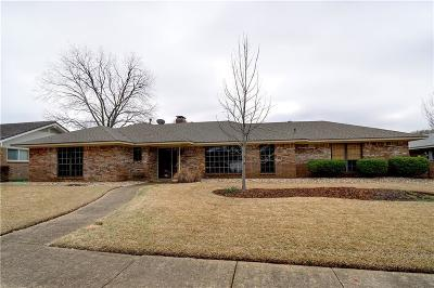 Irving Single Family Home Active Option Contract: 708 Murl Drive