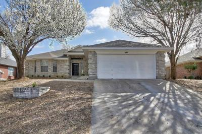 Keller Single Family Home Active Option Contract: 691 Montana Court N