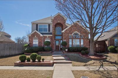 Plano TX Single Family Home Active Option Contract: $367,900