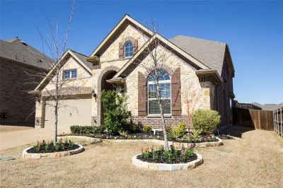 Lewisville Single Family Home Active Option Contract: 2295 Breeze Dale Path