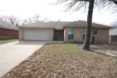 Azle Single Family Home Active Option Contract: 753 Oak Park Drive