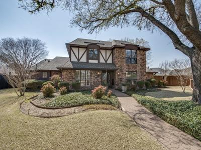 Plano Single Family Home Active Option Contract: 3628 Doubletree Court