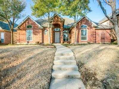 Plano Single Family Home Active Option Contract: 7613 England Drive